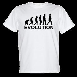 koszulka ewolucja - evolution